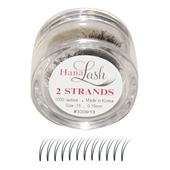 Hana Lash 2 Strands - Short (10mm)