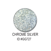 Glitter-Chrome Silver 0.5oz