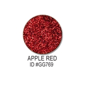 Glitter-Apple Red