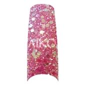 AIKO Rainbow Glitter Tips (102tips/box)