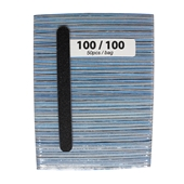 Medium File Blue 100/100 (Black Sand - 50cts)