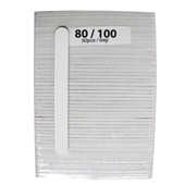 Medium File 80/100 (white Sand - 50cts)