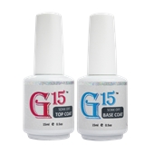G15 GEL TOP +  BASE COAT - 0.5oz