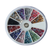 Rhinestone 12 Color Assorti (Korea)