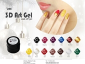 3D GEL ART WHOLE SET 14 COLORS